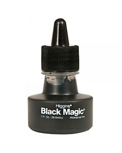 Higgin's Black Magic Ink 1oz Bottle