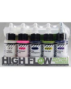 High Flow Marker Set
