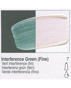 Golden Fluid Acrylic 4oz Bottle - Interference Green (Fine)