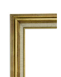 "Accent Wood Frame 12x16"" - Gold Wash"