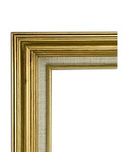 "Accent Wood Frame 9x12"" - Antique Gold"