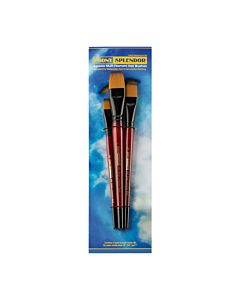 Ebony Splendor Brush Short Handle Wash Set