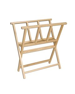 Folding Wood Print Rack