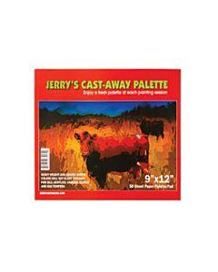 Jerrys Cast Away Paper Palette Pad 9x12