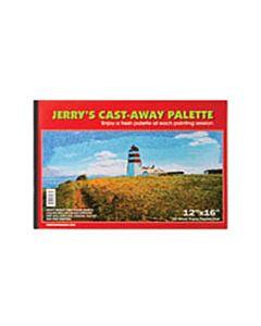 """Jerrys Cast Away Paper Palette Pad 12x16"""""""
