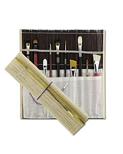 Studio Line Bamboo Brush Mat - Black