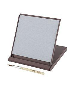 Mini Dream Board Water Drawing Zen Board w/ Brush & Flip-Open Stand