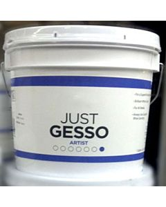 Just Gesso Artist 1 Gallon