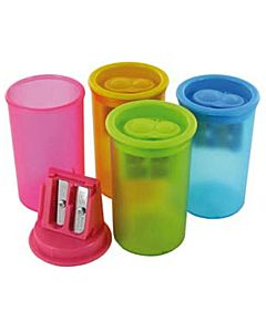 Single Hole Plastic Canister Sharpener