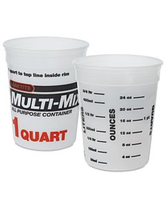 Plastic Tub 1 Quart