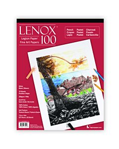 Lenox 100 White Drawing Pad 9x12
