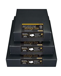 Museum Box Black 20.5x24.5x3