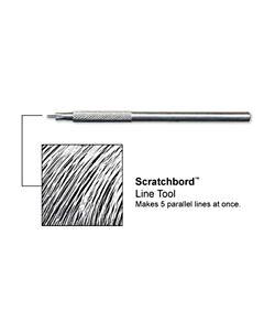 Ampersand Scratchbord Line Tool