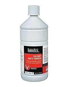 Liquitex Soluvar Varnish - Matte 32oz Bottle