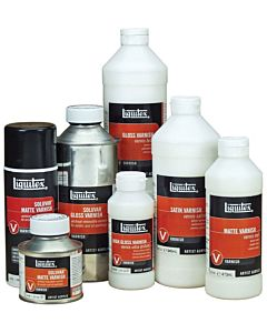 Liquitex Gloss Varnish - 8oz Bottle