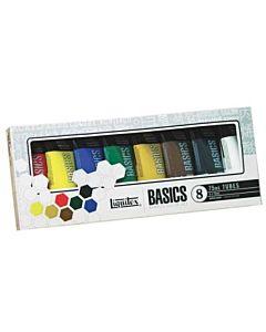 Liquitex Basics 8 Tube Set 75ml Colors