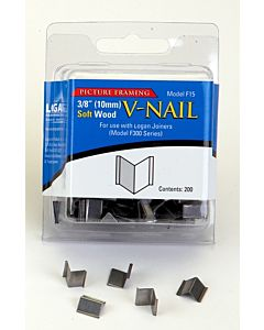 Logan Soft Wood V-Nails (200 count) 3/8""