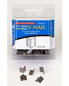 """Logan Hard Wood V-Nails (200 count) 1/2"""""""