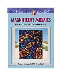 Creative Haven Magnificent Mosaics Adult Coloring Book