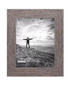Malden Designs - Wide Gray Texture Frame 5x7
