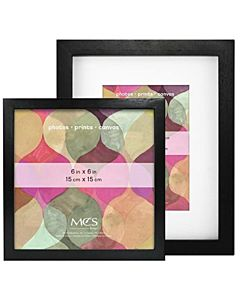 MCS Art Frames - Black Wood - 6x6