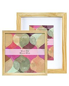 MCS Art Frames - Natural Wood - 9x12 Frame - 6x8 Mat