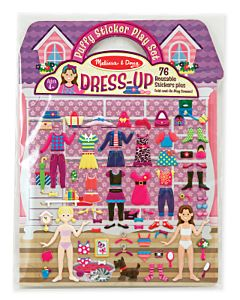 Puffy Stickers Play Set - Dress Up