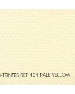 Canson Mi-Teintes Sheet 8.5x11 - Pale Yellow