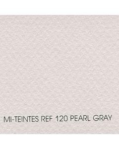 "Canson Mi-Teintes Sheet 8.5x11"" - Pearl Gray #120"