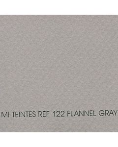 "Canson Mi-Teintes Sheet 8.5x11"" - Flannel Gray #122"