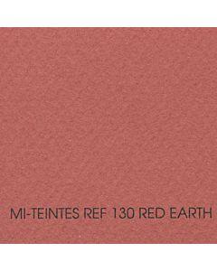 Canson Mi-Teintes Sheet 19x25 - Red Earth #130