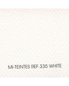 """Canson Mi-Teintes Sheet 8.5x11"""" - White #335"""