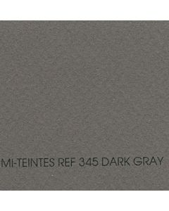 "Canson Mi-Teintes Sheet 8.5x11"" - Dark Gray #345"