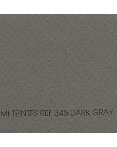 Canson Mi-Teintes Sheet 19x25 - Dark Gray #345