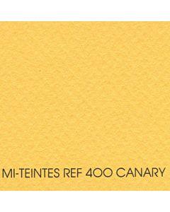 """Canson Mi-Teintes Sheet 8.5x11"""" - Canary #400"""