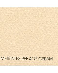 "Canson Mi-Teintes Sheet 8.5x11"" - Cream #407"