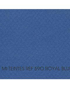 "Canson Mi-Teintes Sheet 8.5x11"" - Royal Blue #590"