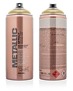 Montana Effect Spray Paint - Aztec Gold Metallic
