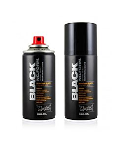 Montana BLACK Cans Spider Effect Spray 150ml -Silver