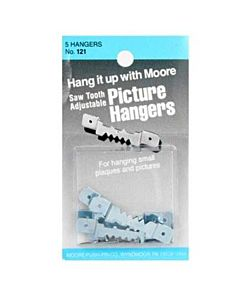 Moores Sawtooth Hangers Small 5 Pack