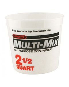 Plastic Tub 2.5 Quart