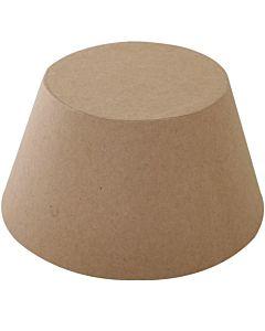 "Paper Mache Flt Top Cone 6"""