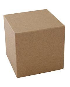 """Paper Mache Cube 4"""""""