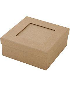 """Paper Mache Box Passe-Partout Large 4.7"""""""