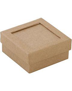 "Paper Mache Box Passe-Partout Small 2.7"""