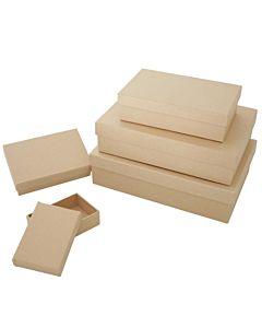 Paper Mache Rect Box Se5 Large