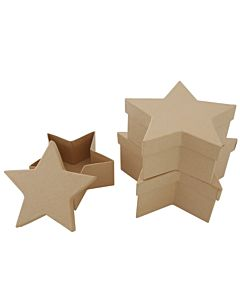 Paper Mache Star Box Se3 Med