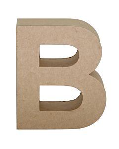 """Paper Mache Letter B 6.8"""""""
