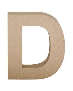"""Paper Mache Letter D 6.8"""""""