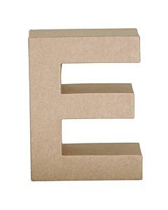 """Paper Mache Letter E 6.8"""""""